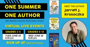 6-29-21 Author Jarrett Krosoczka (grades 3-6)